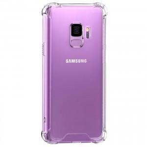 King Kong Armor | Противоударный прозрачный чехол для Samsung Galaxy S9 с дополнительной защитой углов