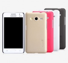 фото Матовый чехол Nillkin Super Frosted Shield для Samsung G355 Galaxy Core 2 (+ пленка)