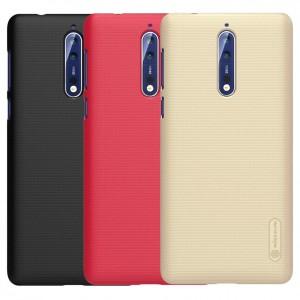 Nillkin Super Frosted Shield | Матовый чехол для Nokia 8 Dual SIM (+ пленка)