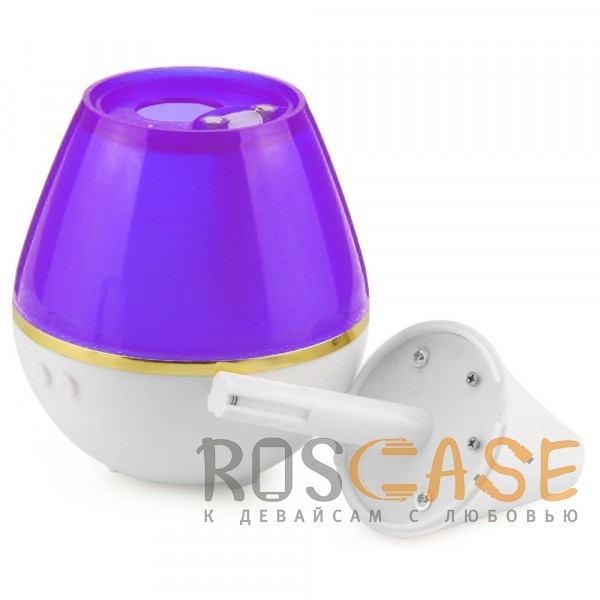 Фотография Фиолетовый Компактный USB Увлажнитель воздуха Ultrasound Atomization Humidifier