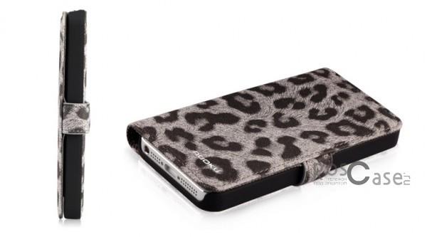 Фото кожаного чехла Nuoku Leopard Series для iPhone 5