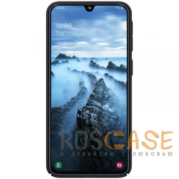 Изображение Черный Nillkin Super Frosted Shield | Матовый чехол для Samsung A405F Galaxy A40