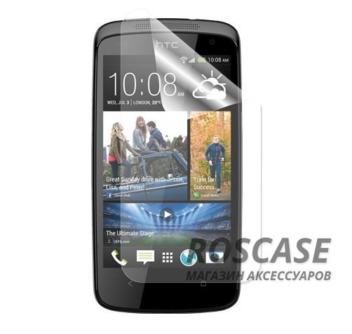 фото защитная пленка Auris для HTC Desire 500