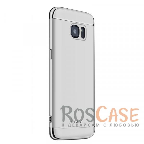 Чехол iPaky Joint Series для Samsung G930F Galaxy S7 (Серебряный)Описание:совместим с Samsung G930F Galaxy S7;бренд - iPaky;материал - поликарбонат;тип - накладка.<br><br>Тип: Чехол<br>Бренд: Epik<br>Материал: Поликарбонат