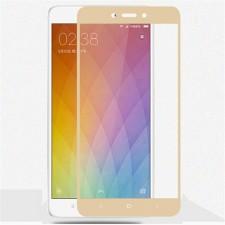 """Защитное стекло с цветной рамкой на весь экран с олеофобным покрытием """"анти-отпечатки"""" для Xiaomi Redmi 4"""