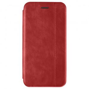 Open Color 2   Кожаный чехол-книжка для Samsung Galaxy A70 с магнитом и подставкой