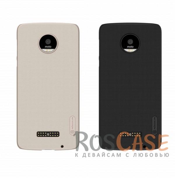 Чехол Nillkin Matte для Motorola Moto Z (XT1650) (+ пленка)<br><br>Тип: Чехол<br>Бренд: Nillkin<br>Материал: Пластик
