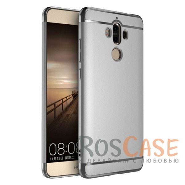 Изящный чехол iPaky (original) Joint с глянцевой вставкой цвета металлик для Huawei Mate 9 (Серебряный)Описание:совместим с Huawei Mate 9;бренд - iPaky;материал - поликарбонат;тип - накладка.<br><br>Тип: Чехол<br>Бренд: iPaky<br>Материал: Поликарбонат