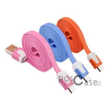 фото дата кабель (плоский) Navsailor (C-021) MicroUSB