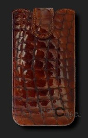 фото кожаный футляр Mavis Classic Stones 112x48/119x50 для Nokia X2-02/Samsung S5610