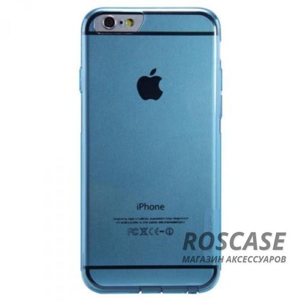 TPU чехол Nillkin Nature Series для Apple iPhone 6/6s (4.7) (Голубой (прозрачный))Описание:производитель  -  Nillkin;совместимость: Apple iPhone 6/6s (4.7);материал  -  термополиуретан;форма  -  накладка.&amp;nbsp;Особенности:в наличии все вырезы;матовая поверхность;не увеличивает габариты;защита от ударов и царапин;на накладке не видны &amp;laquo;пальчики&amp;raquo;.<br><br>Тип: Чехол<br>Бренд: Nillkin<br>Материал: TPU