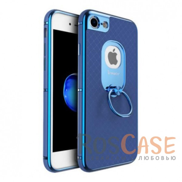 Чехол iPaky Ring Series для Apple iPhone 7 (4.7) (Синий)Описание:идеально совместим с Apple iPhone 7 (4.7);бренд - iPaky;материал - поликарбонат, термополиуретан, искусственная кожа;тип - накладка.<br><br>Тип: Чехол<br>Бренд: Epik<br>Материал: Пластик
