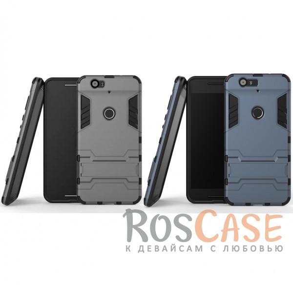 Ударопрочный чехол-подставка Transformer для Huawei Nexus 6P с мощной защитой корпусаОписание:совместим со смартфоном Huawei Nexus 6P;форм-фактор  -  накладка;материал для изготовления  -  термополиуретан/поликарбонат.Особенности:простая и надежная фиксация смартфона;имеет необходимые вырезы под функции гаджета;есть функция подставки;защита от скольжения и ударов;защита от отпечатков;не деформируется;морозостойкий.<br><br>Тип: Чехол<br>Бренд: Epik<br>Материал: TPU