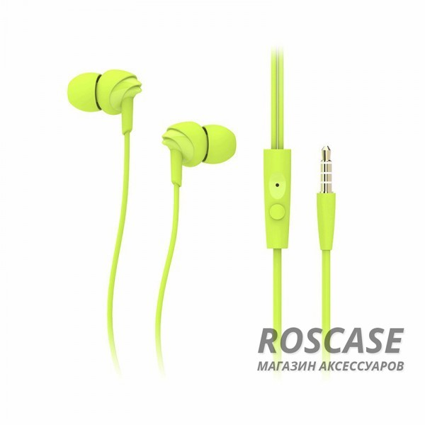 Наушники ROCK Y1 stereo (Зеленый)Описание:производитель  - &amp;nbsp;Rock;разъем  -  3,5 mini jack;тип  -  наушники.&amp;nbsp;Особенности:микрофон;сопротивление: 16&amp;Omega;;чувствительность  - &amp;nbsp;91&amp;nbsp;Дб;частотный диапазон:&amp;nbsp;20-20&amp;nbsp;кГц;прочная оплетка;в комплекте амбушюры разных размеров.<br><br>Тип: Наушники/Гарнитуры<br>Бренд: ROCK