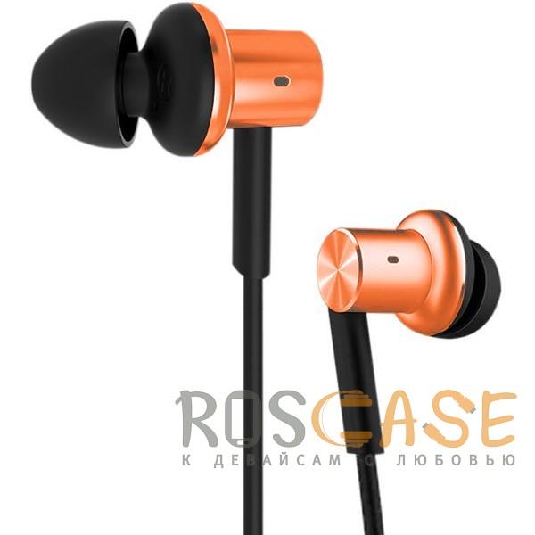 Изображение Оранжевый Xiaomi PISTON 5 (реплика) | Вакуумные наушники с пультом управления и микрофоном