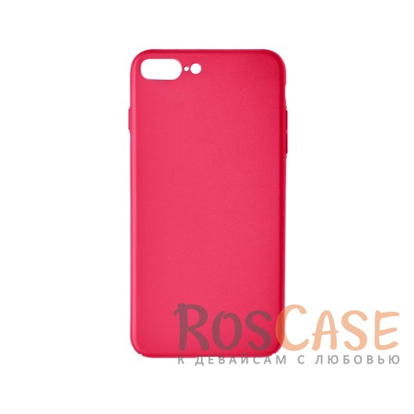 Пластиковая накладка soft-touch с защитой торцов Joyroom для Apple iPhone 7 plus (5.5) (Красный)<br><br>Тип: Чехол<br>Бренд: Epik<br>Материал: Пластик