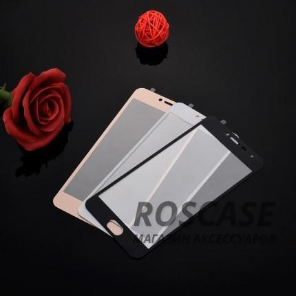 Цветное защитное стекло на весь экран для Meizu M3 / M3 mini / M3sОписание:компания&amp;nbsp;Epik;совместимо с Meizu M3 / M3 mini / M3s;материал: закаленное стекло;тип: защитное стекло на экран.Особенности:полностью закрывает дисплей;тонкое;цветная окантовка;прочное;покрытие анти-отпечатки;защита от ударов и царапин.<br><br>Тип: Защитное стекло<br>Бренд: Epik