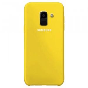 Силиконовый чехол для Samsung J600F Galaxy J6 (2018) с покрытием soft touch