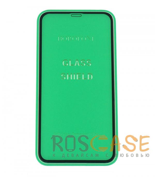 Фото Черный Защитное стекло Premium Borofone для Apple iPhone X / XS / 11 Pro