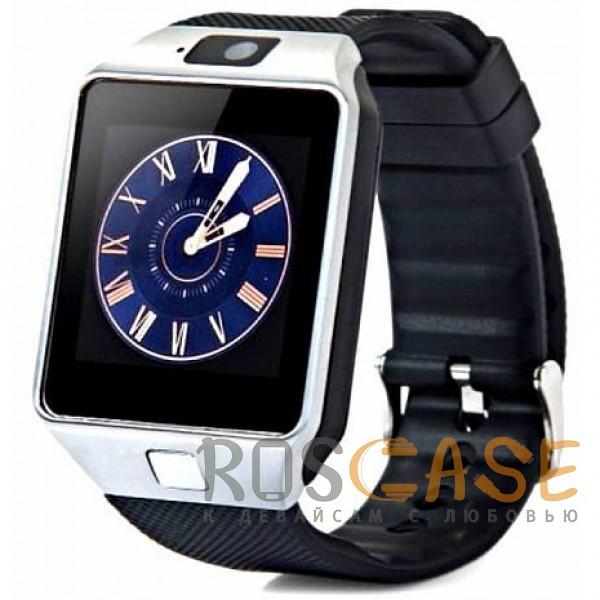Фото Серебряный Умные часы Smart Watch UWatch DZ09
