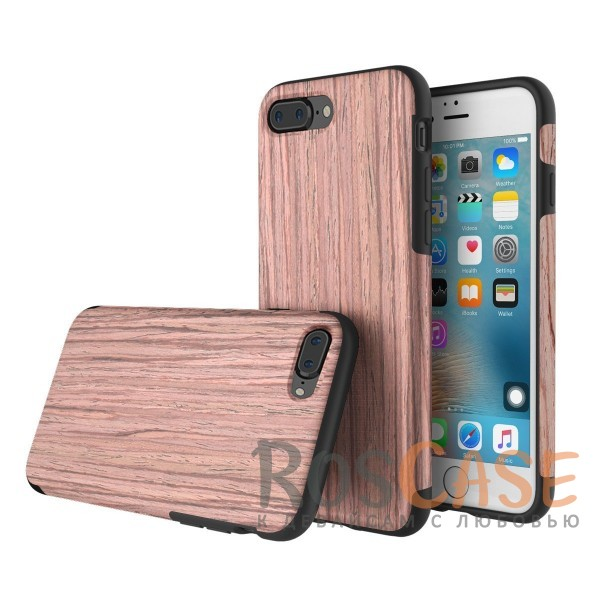 Rock Origin | Чехол для Apple iPhone 7 plus / 8 plus (5.5) с деревянным покрытием (Sandalwood)Описание:бренд Rock;подходит для Apple iPhone 7 plus / 8 plus (5.5);форм-фактор: накладка;материал: термополиуретан и натуральное дерево.Особенности:чехол выполняет защитную и декоративную функцию;предотвращает появление царапин или других повреждений корпуса телефона;фактура шероховатая;фиксация надежная;текстура приятная на ощупь;дизайн оригинальный.<br><br>Тип: Чехол<br>Бренд: ROCK<br>Материал: TPU