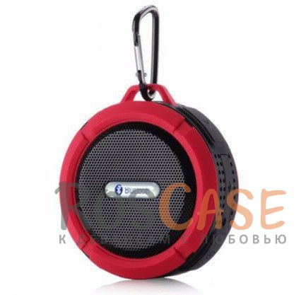 Портативная Bluetooth Колонка Tripbeats (водонепроницаемая) (Красный)Описание:совместимость - универсальная;bluetooth соединение;материал - прорезиненный пластик;тип устройства - колонка.&amp;nbsp;Характеристики:водонепроницаемая;металлический карабин;размеры -&amp;nbsp;87*45*95 мм;синхронизация с устройством посредством Bluetooth или через аудио-кабель;встроенный аккумулятор (500 мАч);время зарядки - 2 часа;поддержка&amp;nbsp;SD карты;в комплекте кабель для зарядки.<br><br>Тип: Наушники/Гарнитуры<br>Бренд: Epik