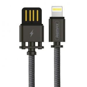 Remax RC-064a | Дата кабель в тканевой оплетке и металлическим разъёмом USB to Lightning (100см) для Apple iPad Pro 9.7