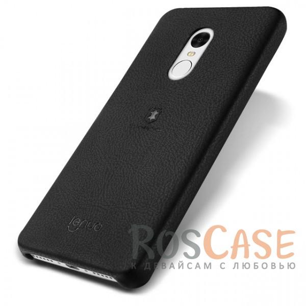 Тонкий чехол-накладка Lenuo из экокожи с защитными бортиками для Xiaomi Redmi Note 4 (MTK) (Черный)Описание:материалы - термополиуретан, искуственная экокожа;совместимость -&amp;nbsp;Xiaomi Redmi Note 4;в наличии все необходимые вырезы;защита от ударов и царапин;не скользит в руках;гибкая ультратонкая накладка;внешняя отделка из искусственной кожи;приподнятые бортики для защиты камеры.<br><br>Тип: Чехол<br>Бренд: Epik<br>Материал: Искусственная кожа