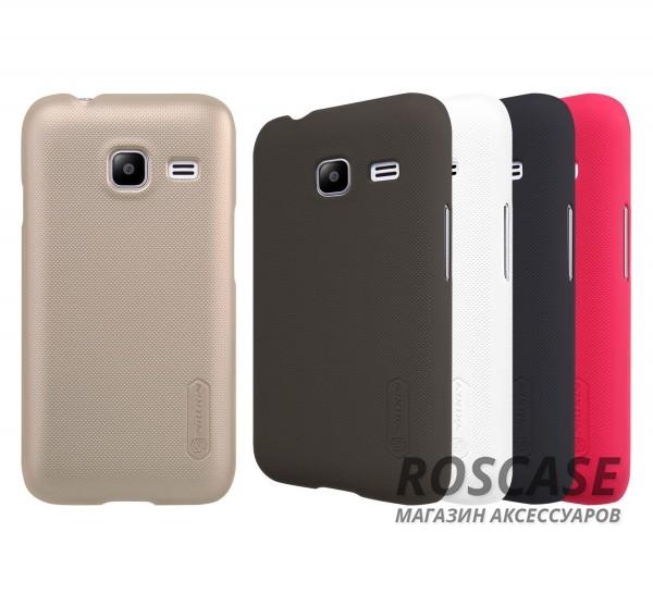 Чехол Nillkin Matte для Samsung J105H Galaxy J1 Mini / Galaxy J1 Nxt (+ пленка)Описание:производитель -&amp;nbsp;Nillkin;материал - поликарбонат;совместим с Samsung J105H Galaxy J1 Mini / Galaxy J1 Nxt;тип - накладка.&amp;nbsp;Особенности:матовый;прочный;тонкий дизайн;не скользит в руках;не выцветает;пленка в комплекте.<br><br>Тип: Чехол<br>Бренд: Nillkin<br>Материал: Поликарбонат