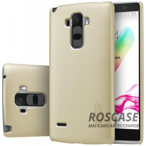 Чехол Nillkin Matte для LG H540F G4 Stylus Dual (+ пленка) (Золотой)Описание:производитель -&amp;nbsp;Nillkin;материал - поликарбонат;разработан специально для LG H540F G4 Stylus Dual;тип - накладка.&amp;nbsp;Особенности:фактурная поверхность;матовый;не увеличивает габариты;не скользит в руках;не теряет цвет;пленка в комплекте.<br><br>Тип: Чехол<br>Бренд: Nillkin<br>Материал: Поликарбонат