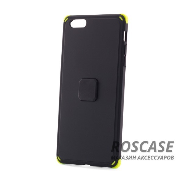 "Изображение Черный / Black TPU+PC чехол Rock MOC Kits Series для Apple iPhone 6 plus (5.5"")  / 6s plus (5.5"")"