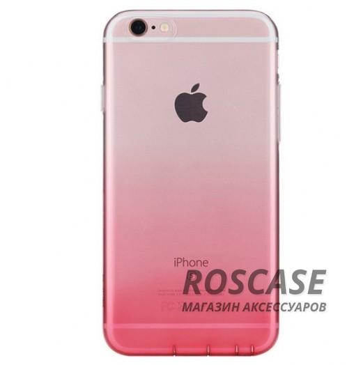 TPU чехол ROCK Iris series для Apple iPhone 6/6s plus (5.5) (Розовый / Transparent pink)Описание:производитель - Rock;материал  -  термополиуретан;поверхность  -  гладкая;форм-фактор  -  накладка;совместимость - Apple iPhone 6/6s plus (5.5)Особенности:прочный и износоустойчивый;не подвергается деформации.легко фиксируется;не скользит в руках.<br><br>Тип: Чехол<br>Бренд: ROCK<br>Материал: TPU