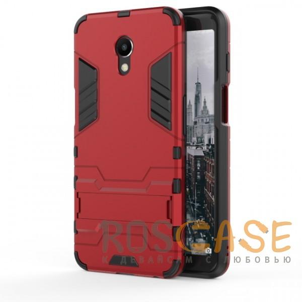 Фотография Красный / Dante Red Transformer | Противоударный чехол для Meizu M6s с мощной защитой корпуса
