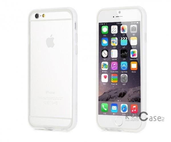 Бампер ROCK Duplex Slim Guard для Apple iPhone 6/6s (4.7)  (Белый / White)Описание:производитель  - &amp;nbsp;Rock;создан специально для Apple iPhone 6/6s (4.7);материал - поликарбонат, термополиуретан;защищает боковые части аппарата.Особенности:ультратонкий, всего 2 мм;представлен в широком цветовом диапазоне;простая установка;обладает высоким уровнем устойчивости к внешним воздействиям.<br><br>Тип: Бампер<br>Бренд: ROCK