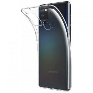 Прозрачный силиконовый чехол  для Samsung Galaxy A21s