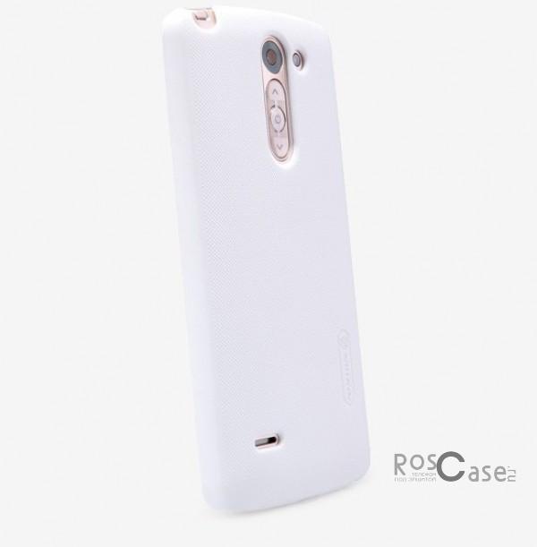 Чехол Nillkin Matte для LG D690 G3 Stylus Dual (+ пленка) (Белый)Описание:разработчик и производитель&amp;nbsp;Nillkin;изготовлен из поликарбоната;поверхность матовая;тип конструкции: накладка;совместим с LG D690 G3 Stylus Dual.&amp;nbsp;Особенности:широкая цветовая гамма;высокая износостойкость;ультратонкий;легкая фиксация;легкая очистка.<br><br>Тип: Чехол<br>Бренд: Nillkin<br>Материал: Поликарбонат
