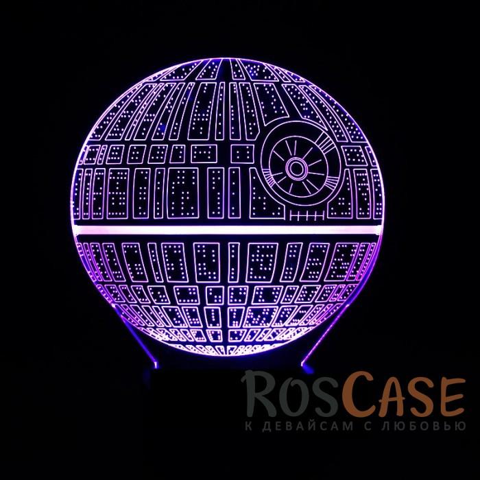 """Фото Светодиодный 3D светильник-ночник с проекцией объемного изображения """"Star Wars"""""""