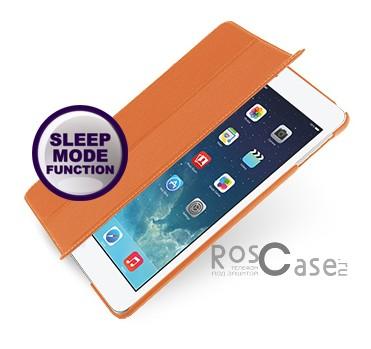 Кожаный чехол (книжка) TETDED для Apple IPAD AIR (Оранжевый / Orange)Описание:бренд:&amp;nbsp;TETDED;совместим с Apple IPAD AIR;материал: натуральная кожа;форма: книжка.&amp;nbsp;Особенности:выполнен вручную;полный набор функциональных прорезей;тонкое исполнение;функция Sleep mode;амортизация силы удара.<br><br>Тип: Чехол<br>Бренд: TETDED<br>Материал: Натуральная кожа