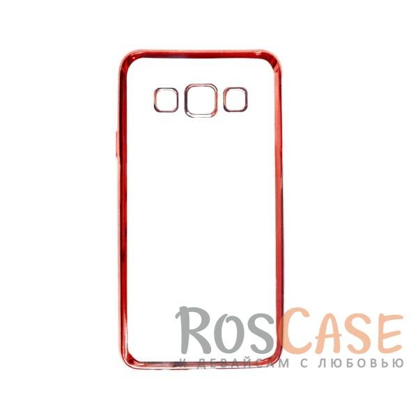 Прозрачный силиконовый чехол для Samsung A300H / A300F Galaxy A3 с глянцевой окантовкой (Розовый)Описание:подходит для Samsung A300H / A300F Galaxy A3;материал - силикон;тип - накладка.Особенности:глянцевая окантовка;прозрачный центр;гибкий;все вырезы в наличии;не скользит в руках;ультратонкий.<br><br>Тип: Чехол<br>Бренд: Epik<br>Материал: Силикон