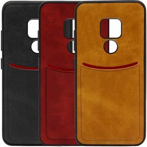 ILEVEL | Чехол с кожаным покрытием и с карманом-визитницей для Huawei Mate 20
