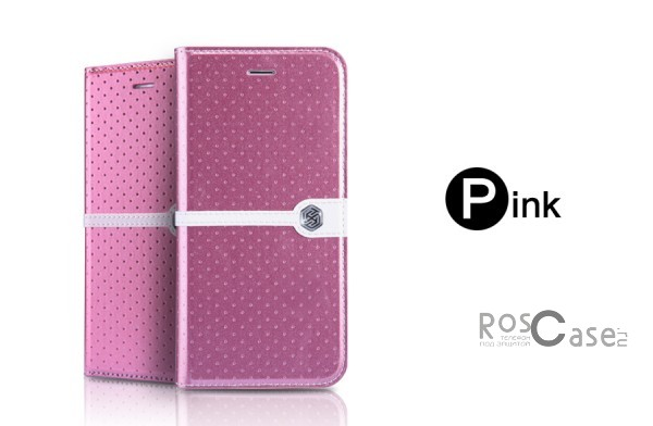Кожаный чехол (книжка) Nillkin Ice Series для Apple iPhone 6/6s (4.7) (+ пленка) (Розовый)Описание:разработка и производство компании&amp;nbsp;Nillkin;совместим с Apple iPhone 6/6s (4.7);изготовлен из искусственной кожи и полиуретана;гладкая поверхность;тип конструкции  -  чехол-книжка;&amp;nbsp;Особенности:внутренняя часть отделана микрофиброй;ультратонкий;пленка в комплекте;транформируется в подставку;насыщенная цветовая палитра;повышенная износоустойчивость.<br><br>Тип: Чехол<br>Бренд: Nillkin<br>Материал: Искусственная кожа