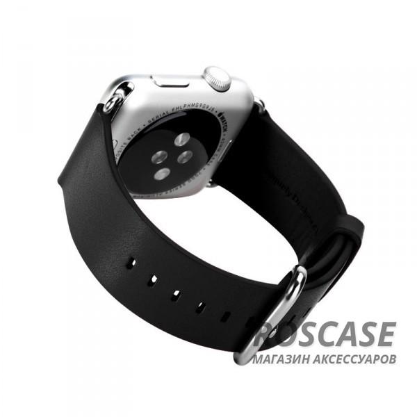 фото кожаный ремешок ROCK для Apple watch 38mm