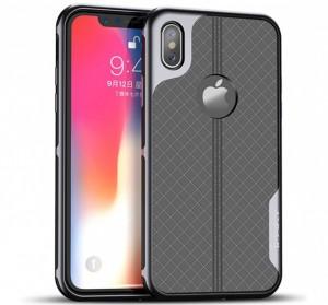 iPaky New Plum | Матовый силиконовый чехол для iPhone X / XS