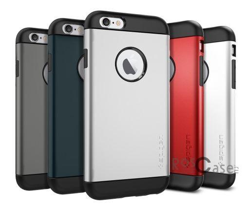 Пластиковая накладка SGP Slim Armor Series для Apple iPhone 6/6s (4.7)Описание:бренд:&amp;nbsp;SGP;совместим с Apple iPhone&amp;nbsp;6/6s (4.7);используемые материалы: термопластичный полиуретан, поликарбонат;форма чехла: накладка.&amp;nbsp;Особенности:соблюдено полное количество прорезей под функциональные объекты;тонкое исполнение;амортизация возникающей вибрации от падения;на ней не видны отпечатки пальцев;идеально прилегает.<br><br>Тип: Чехол<br>Бренд: SGP<br>Материал: Пластик