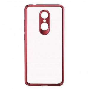 iPaky Hard Original | Прозрачный чехол для Xiaomi Redmi 5 с защитными бортиками