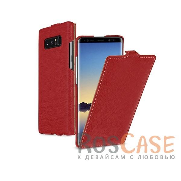 Прошитый флип из натуральной кожи TETDED для Samsung Galaxy Note 8 (Красный / Red)Описание:бренд  - &amp;nbsp;Tetded;совместимость - Samsung Galaxy Note 8;материал  -  высококачественная коровья кожа;тип  -  флип;легко устанавливается;прошит по периметру;защита от механических повреждений;на чехле не заметны отпечатки пальцев;все необходимые функциональные вырезы.<br><br>Тип: Чехол<br>Бренд: TETDED<br>Материал: Натуральная кожа