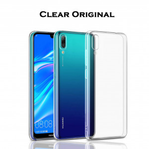 Clear Original | Прозрачный TPU чехол 2мм для Huawei Y7 (2019) / Y7 Prime (2019) для Huawei Y9 (2019) / Enjoy 9 Plus