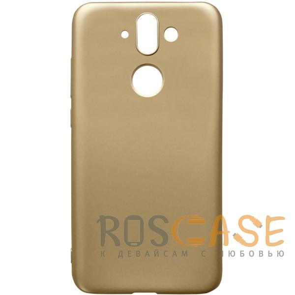 Фото Золотой J-Case THIN | Гибкий силиконовый чехол для Nokia 8 Sirocco