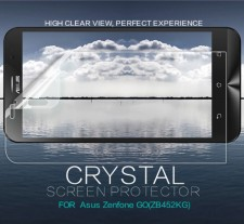 Nillkin Crystal | Прозрачная защитная пленка для Asus ZenFone Go (ZB452KG)