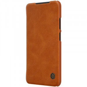 Nillkin Qin   Чехол-книжка из Premium экокожи  для Xiaomi Redmi Note 10